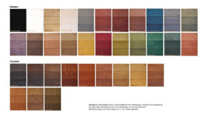 Kleuren watergedragen impregneerbeits
